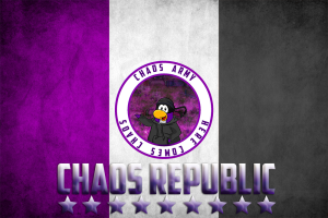 Chaos Republic Flag