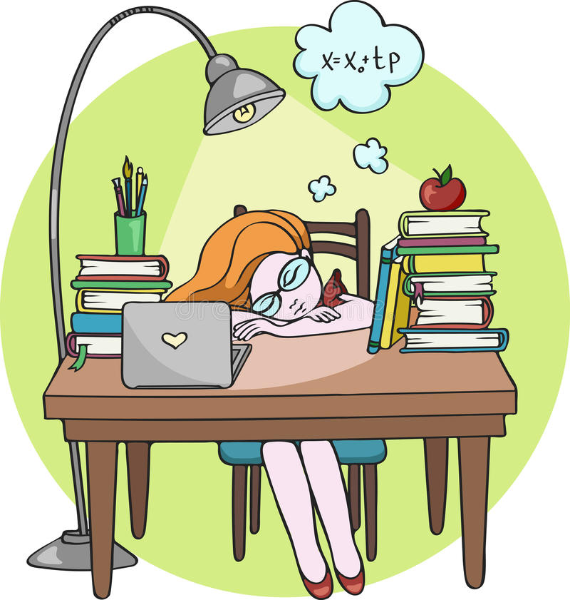 sleeping-at-desk-clipart-2
